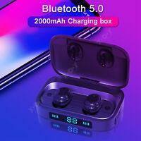 bluetooth V5.0 Headset LED Mini TWS Wireless Earphones Earbuds Stereo Headphones