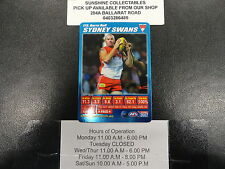 2007 TEAMCOACH BLUE PRIZE CARD NO.175 BARRY HALL SYDNEY SWANS