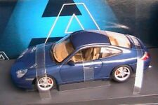 PORSCHE 911 996 COUPE FACELIFT 2002 CARRERA BLEU METAL 1/18 carrara weiss