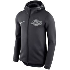 LOS ANGELES LAKERS Showtime Hoodie Nike NBA Therma Flex On-Court Mens XXL 2XL