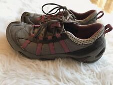 TEVA Women's Size 8 Brown Mauve Lace Up Shoes Hiking Athletic Casual