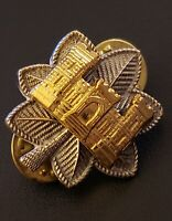 Engineer Lt Colonel Rank Officer Insignia Military Badge Sapper Hat Pin US Army