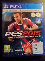 Pro Evolution Soccer 2015 PES Edición Day One PS4 BBVA Nuevo futbol PAL España