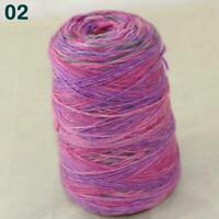 AIP 1Cone 500g Rainbow Chunky Wool Cashmere Yarn Hand DIY Scarf Sweater Yarn 02