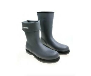 Shimano Evair Rubber Deck Boots Gray Size 11 - Free Shipping