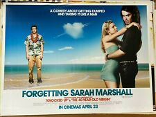 Forgetting Sarah Marshall (2008) Russell Brand, Jason Segel Original Quad Film P