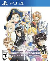 Tales Of Vesperia Definitive Edition For Sony PlayStation 4 CIB *TESTED