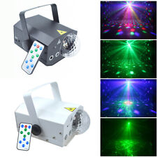 Mini Laser Stage Light Lighting Fixture Disco Dj Show Bar Club Remote Control E