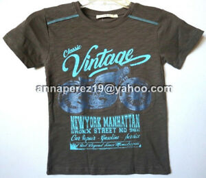 20% OFF! AUTH JUSTEES BOY'S GRAPHIC APPLIQUE TEE SIZE 10 / 9-10 YRS BNWT P 249