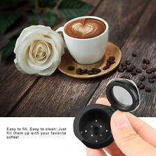 2 X RICARICABILI capsule riutilizzabili baccelli per Nespresso macchine da caffè + cucchiaio