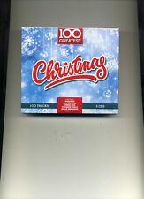 100 GREATEST CHRISTMAS - CLIFF RICHARD WIZZARD BRENDA LEE RUMER - 5 CDS - NEW!!