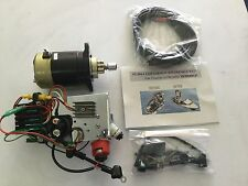 Mercury 25 Hp,30 Hp Electric Starter Conversion Kit D.i.y