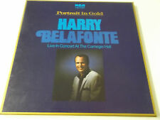 HARRY BELAFONTE - PORTRAIT IN GOLD (CARNEGIE HALL CONCERT) - 2X VINYL LP BOX SET