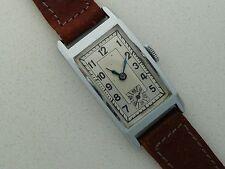 Mechanical (Hand-winding) Rectangle Unisex Wristwatches