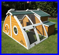 Pets Imperial® Green Ritz Large Chicken Coop Hen Poultry Ark House Run Nest New