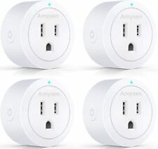 Amazon Alexa, Echo Dot and Google Home Compatible Smart Plug 4-pack