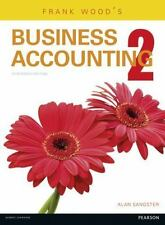 Frank Wood Business Accounting 2 (13th Edition) by Alan Sangster 9781292085050