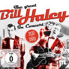 CD DVD The Great Bill Haley In Concert 2CD und DVD von Bill Haley
