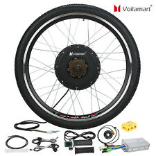 Voilamart 26 inch 48V 1500W Electric Bicycle Conversion Kit