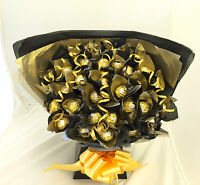 LARGE FERRERO ROCHER CHOCOLATE SWEET TREE BOUQUET 34 ITEMS
