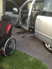 Wheel Chair Disability Car