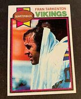 1979 Tops Football #200 Fran Tarkenton = Vikings