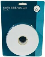Heavy Duty Double Sided Sticky Foam Tape Strong Adhesive Craft Mounting T125