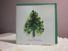 Quilling Cards LLC - 3D Christmas Tree Note Card