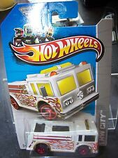 Hot Wheels  2013 Treasure Hunt  FIRE-EATER FIRE TRUCK  New  FIRETRUCK
