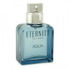 ETERNITY AQUA by Calvin Klein 3.3 oz / 3.4 oz 100 ml EDT Spray MEN NEW NO BOX