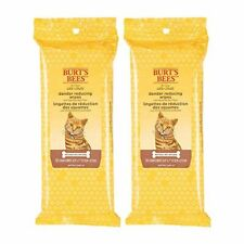 New listing Burt's Bees For Cats Natural Dander Reducing Wipes | Kitten and Cat Wipes For Gr