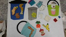 FELT BOARD FLANNEL STORY RESOURCE - CLASSROOM REDUCE  RE-USE  AND RECYCLE