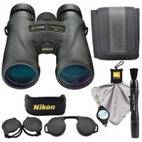 Nikon Monarch 5 8x42 Binoculars 7576 w/ Lens Pen, Cloth, Keychain Light