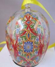Limited Edition Hutschenreuther Germany Crystal Egg Ornament Glass Ei Knobl 2006