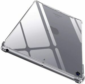 """Crystal Thin Soft TPU Clear Case Cover For iPad 8th Gen 2020/7th Gen 2019 10.2"""""""