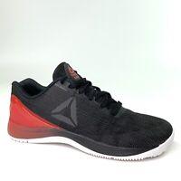 Reebok Crossfit Nano 7 Youth Ortholite Workout Shoes Red Black Boys Size 4.5
