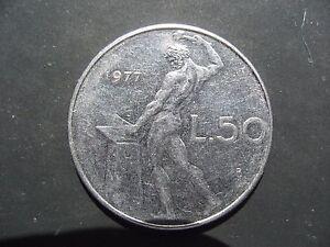 Italy 50 Lire 1977.