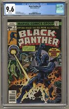 Black Panther #2 (CGC 9.6) White p; Jack Kirby; Marvel; 1977; Newsstand (j#5971)