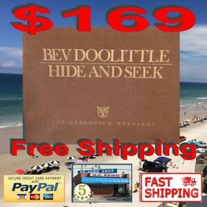 """BEV DOOLITTLE """"HIDE AND SEEK"""" SUITE  UNFRAMED SET OF (6) PRINTS 17570 of 25000"""