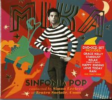 MIKA SINFONIA POP DOPPIO CD+DVD NUOVO SIGILLATO !!