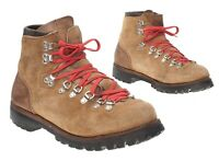 Vtg VASQUE Leather Hiking Boots 10 B Womens Roughout Suede Leather Heavy Boots