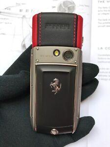 VERTU ASCENT TI FERRARI ROSSO GENUINE SPECIAL EDITION TITANIUM F LUXURY PHONE