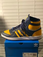 Adidas Top Ten RB Collegiate Navy / Active Gold / Silver Shoe Mens US 12.5