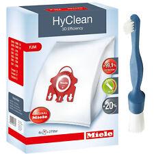 4 x MIELE Hoover Dust Bags Hyclean FJM 3D Vacuum Cleaner S5000 S5 Series