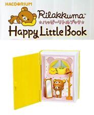 RE-MENT Hakorium Rilakkuma Happy Little Book Toy Figure #6 Dresser Kiiroitori