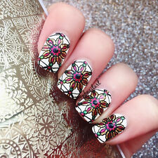 BORN PRETTY Nail Art Stamp Plate Manicure Image Template Floral Pattern BP-L053