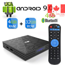 Android 9 0 TV Box T9 Android Box with 4GB RAM 32GB ROM Quad-Core Cortex-A53 ...