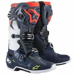 2021 Alpinestars Tech 10 Non-Vented Offroad Motocross Boots - Pick Size & Color
