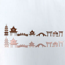Chinese Construction Vintage Cutting Dies Stencil Card Embossing Decor Craft