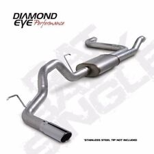 "Diamond Eye 3.5"" Catback Exhaust System for 04-14 Nissan Titan 5.6L"